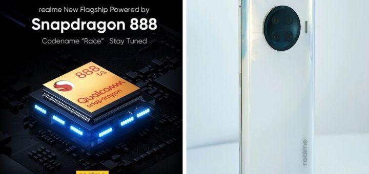 realme Snapdragon 888