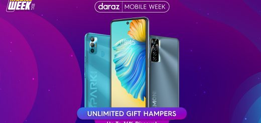 Exciting Discount Offers On Daraz Mobile Week 2021